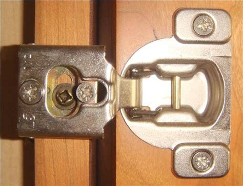 adjust cabinet door hinges hunker