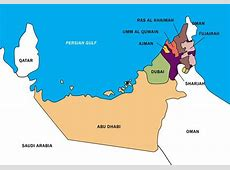 UAE Map Vector Boundary Download Free Vector Art, Stock