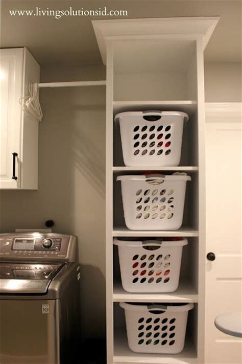 Best 25+ Laundry Basket Storage Ideas On Pinterest