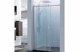 portes de douche pas cher With porte de douche coulissante avec but meuble sous lavabo salle de bain