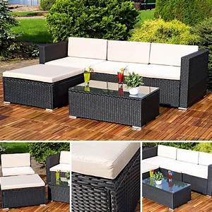 Billiger Sofa Kaufen : polyrattan lounge gartengarnitur sofa schwarz kaufen bei mucola gmbh ~ Markanthonyermac.com Haus und Dekorationen