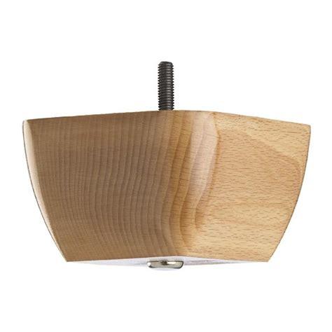 wooden sofa foot mm  mm natural gloss finish