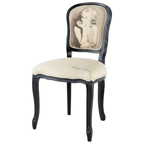 chaise marilyn versailles maisons du monde
