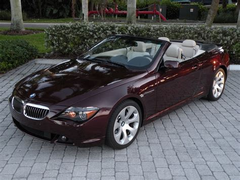 2006 Bmw 650i Convertible Ft Myers Fl For Sale In Fort