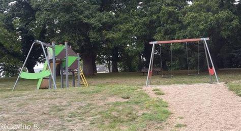 aire de jeux dans le parc de manehouarn plouay r 233 cr 233 atiloups