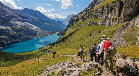 top of the alps itinerary map wilderness travel