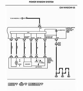 Power Window Switch Wiring Diagram