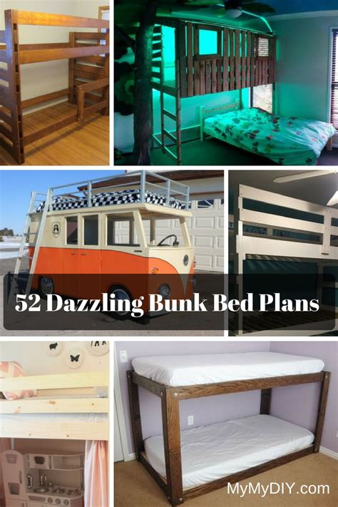 awesome diy bunk bed plans mymydiy inspiring diy