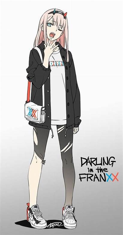 Zero Anime Darling Franxx Fanart Manga Chibi