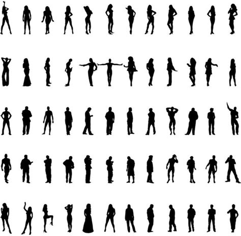 Car Wallpapers Free Psd Files Silhouette by Silhouettes Vector Set Free Vector In Encapsulated