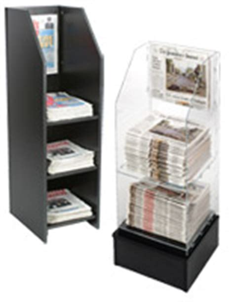 Magazine Stand   Literature Floor Displays for Brochures