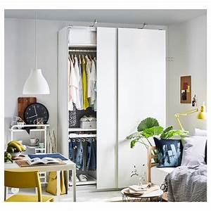 Kleiner Kleiderschrank Ikea : pax kleiderschrank wei hasvik wei ikea ~ Watch28wear.com Haus und Dekorationen