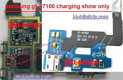 samsung gt n7100 charging show only problem solution