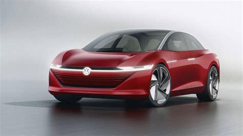 Volkswagen Car : 413-mile Volkswagen I.d. Vizzion Electric Car Debuts In Geneva