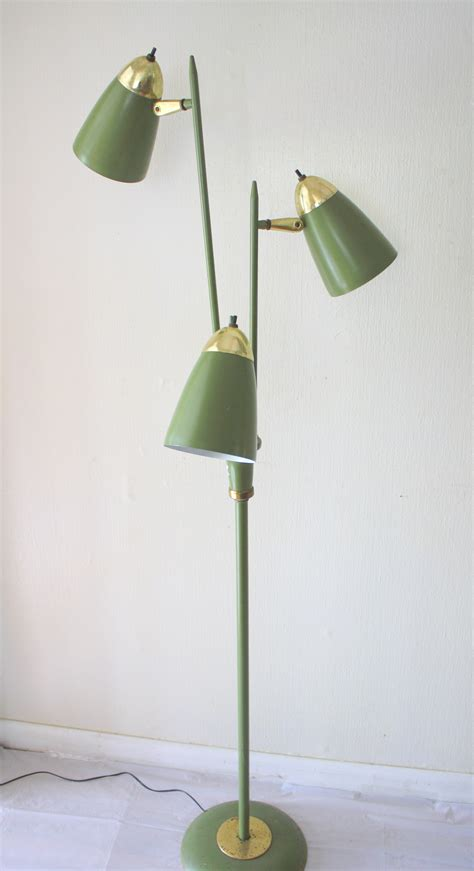 mid century modern floor lamps picked vintage