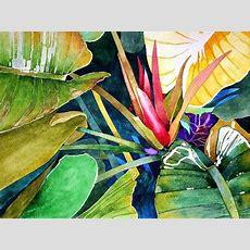1719 Best Watercolor Gardens Images On Pinterest