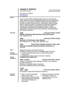 professional resume template professional resume