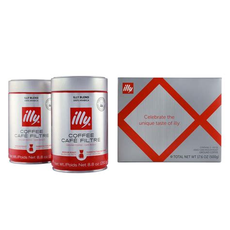 Add 1 or 2 teaspoons of coffee to your cup and add hot water, just off the boil. illy Medium Roast Drip Coffee 2-Pack Gift Set - illy eShop