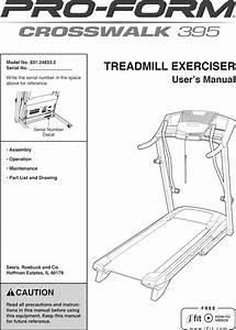 Proform Crosswalk 395 Treadmill Workouts