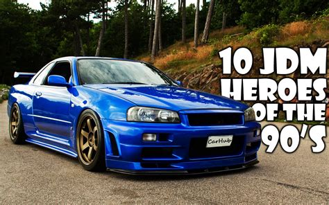 Top 10 90's Jdm Cars Youtube