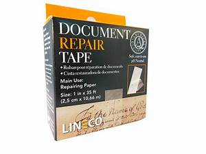 framing4yourself With lineco document repair tape