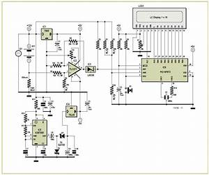Battery Charge Monitor Schematic Circuit Diagram