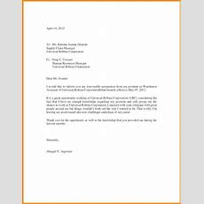 10 Resignation Letter Sample With Reason Better – Startseite Design ...