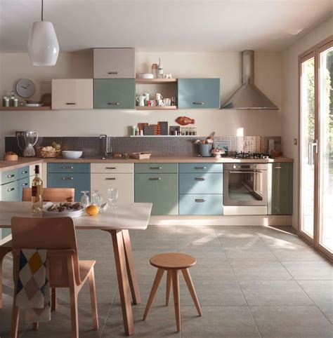 cuisine pastel cuisine en couleur 12 modèles qui en jettent côté maison