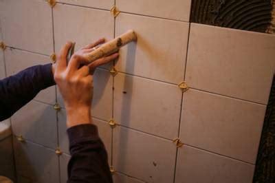 comment poser les joints de carrelage poser du carrelage mural pratique fr