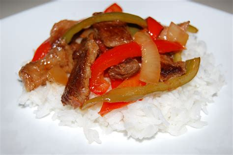 slow cooker pepper steak cooking mamas