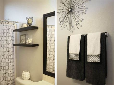 Black And White Bathroom Decor Ideas by Best 25 Grey Bathroom Decor Ideas On Half