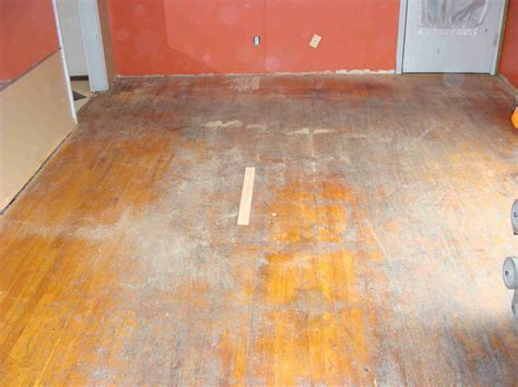 Ugly Floor Restoration   Totta