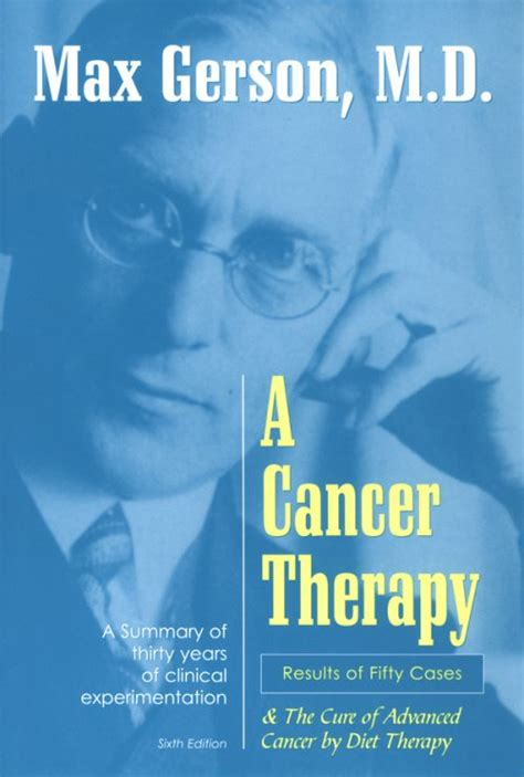 cancer therapy results   cases gerson institute