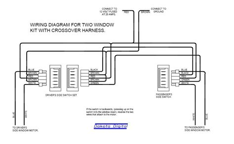 Aftermarket Wiring Diagram by Electric Power Window Wiring Diagram Electrical