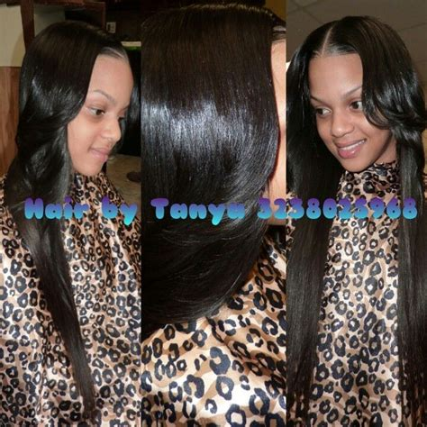 Sewed In Weave Hairstyles by Partial Sewed In Weave Weaves Hair Styles Hair