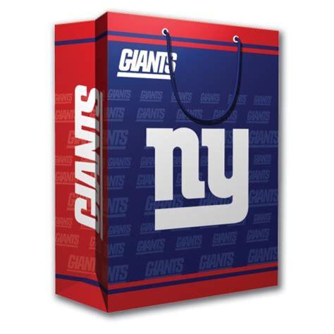 gifts for new york giants fans nfl new york giants gift bag medium