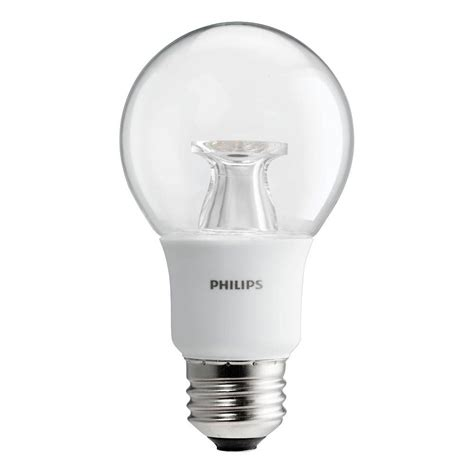 philips a19 dimmable led l philips 40w equivalent soft white clear a19 dimmable led