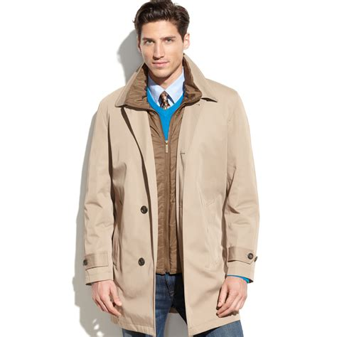 lyst london fog bailey  weather trench coat