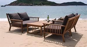 Lounge Set Holz : holz gartenm bel lounge sessel stuhl tisch bank belleair ~ Whattoseeinmadrid.com Haus und Dekorationen