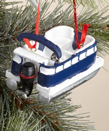 Catamaran Boat Ornament by Another Great Find On Zulily Pontoon Boat Ornament