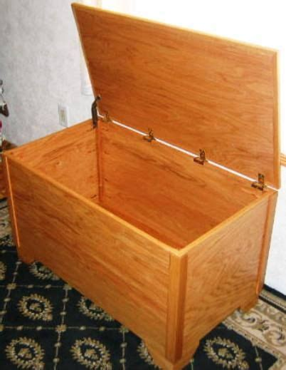 build   wooden chest    considered