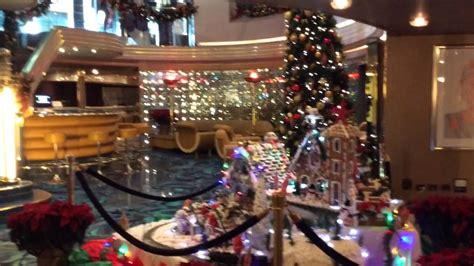 christmas scene  cruise ship youtube