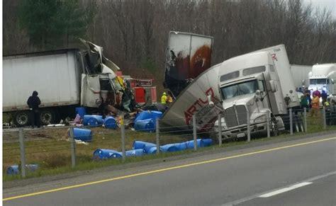 Semi Truck Accident Kills Driver, Ties Up Traffic