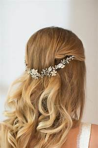 32 Beautiful And Refined Bridal Hair Vine Ideas ...