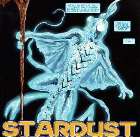 stardust character comic vine