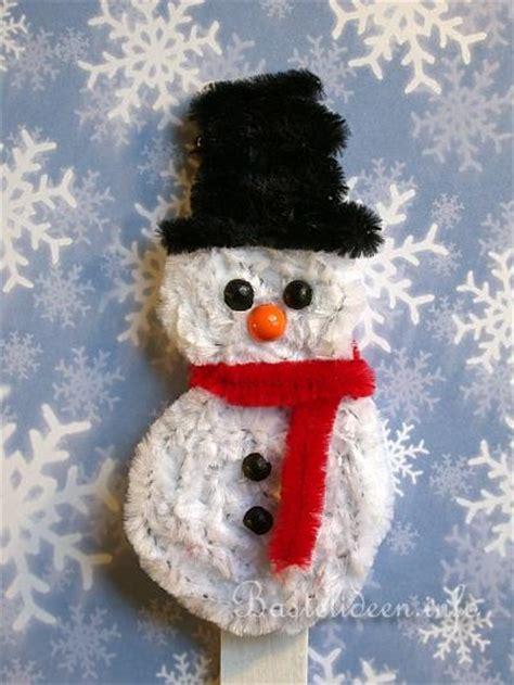 weihnachtsbasteln mit kindern pfeifenputzer biegepluesch