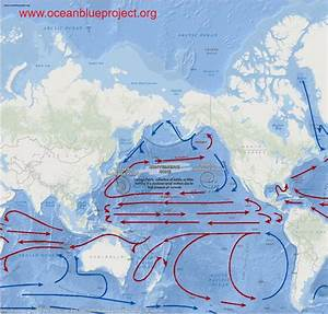 Ocean Currents Maps