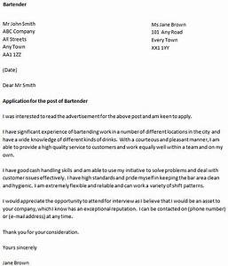 cover letter for a bartender icoverorguk With how to write a covering letter for a job uk