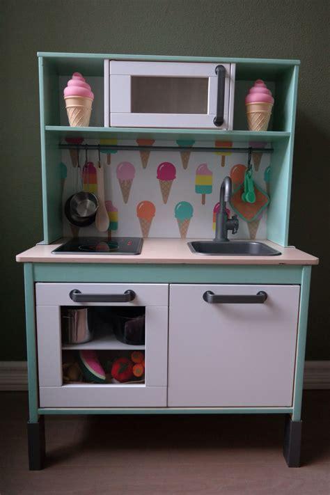 Our Little Girls Loves Her Diy Ikea Duktig Play Kitchen