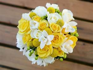 Yellow Bridal Bouquets   Yellow weddings, Flowers and Weddings
